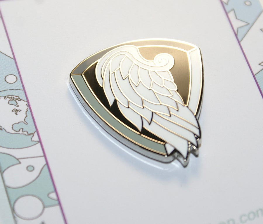 Image of Psalm 91 - Hard Enamel Lapel Pin