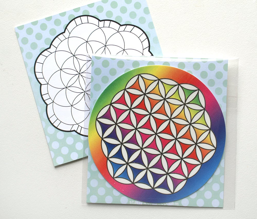 Image of Flower of Life - Vinyl Decal