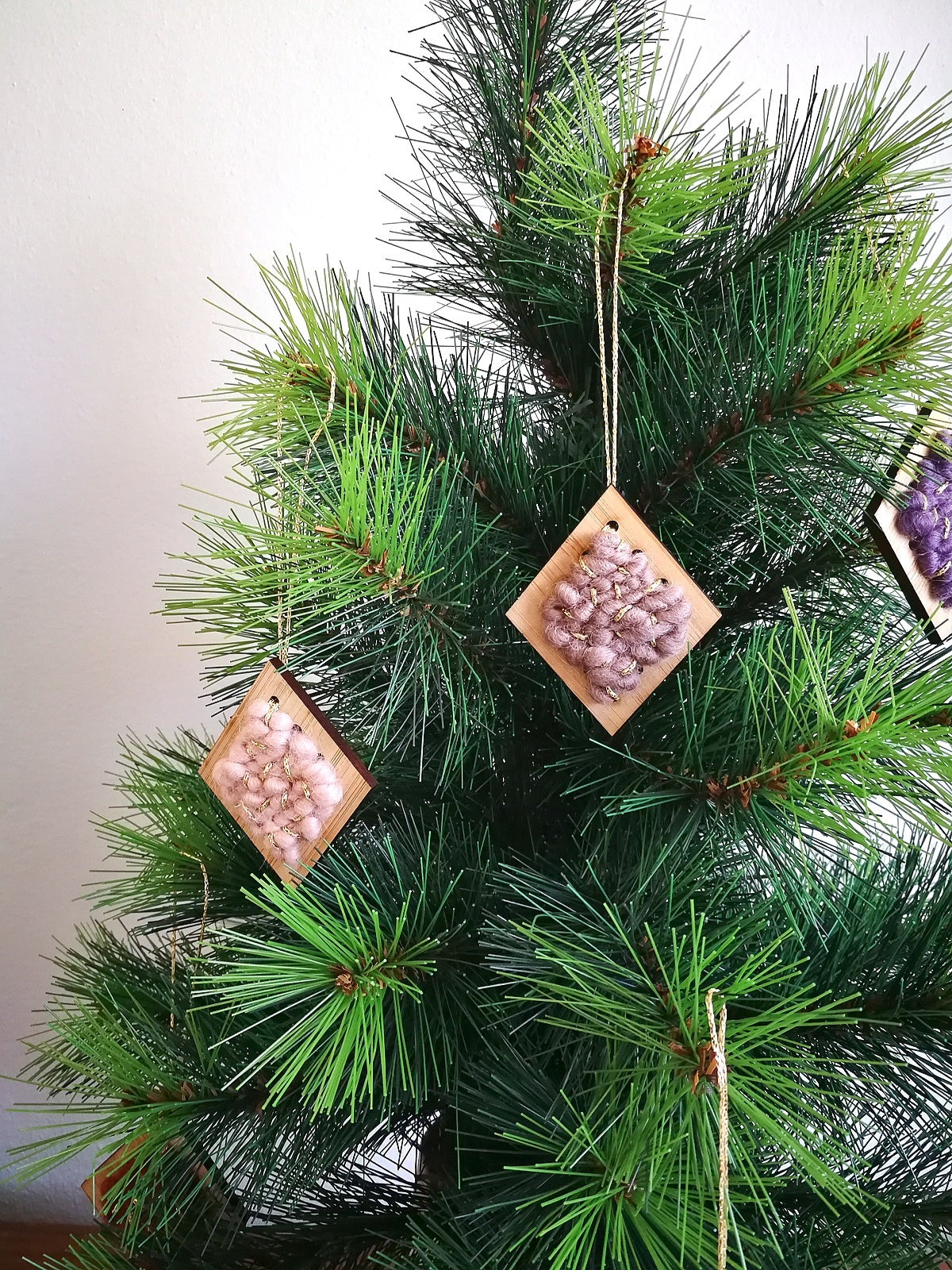Image of Diamond Ornaments - five colours available