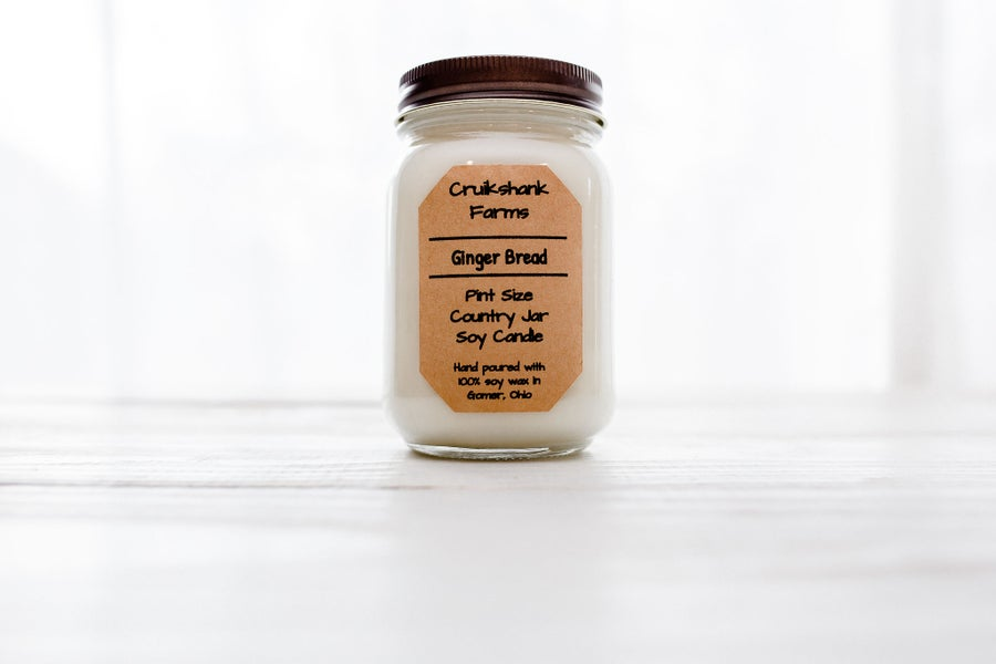 Image of Pint Size Country Jar Candle