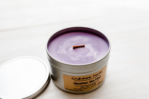 Image of 12 Fl oz Wood Wick Candle