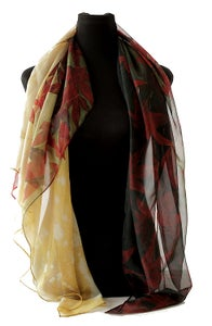 Image of Lily Greenwood Large Scarf - Japanese Maple - HALF PRICE