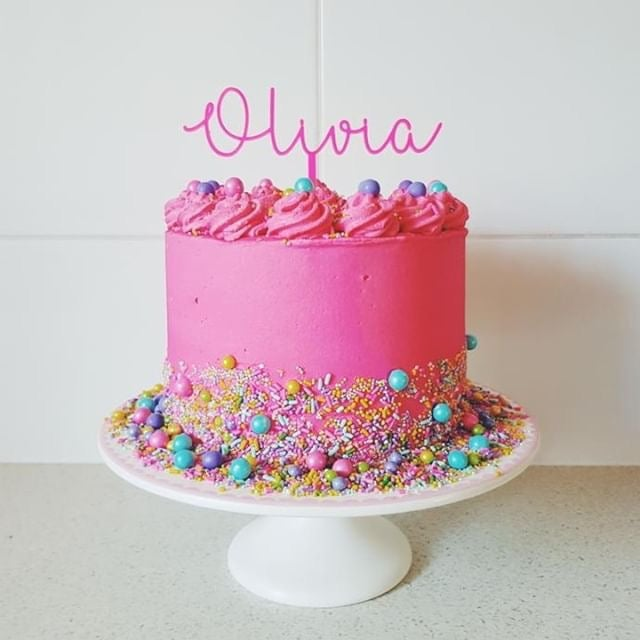 Image of Name Cake Topper