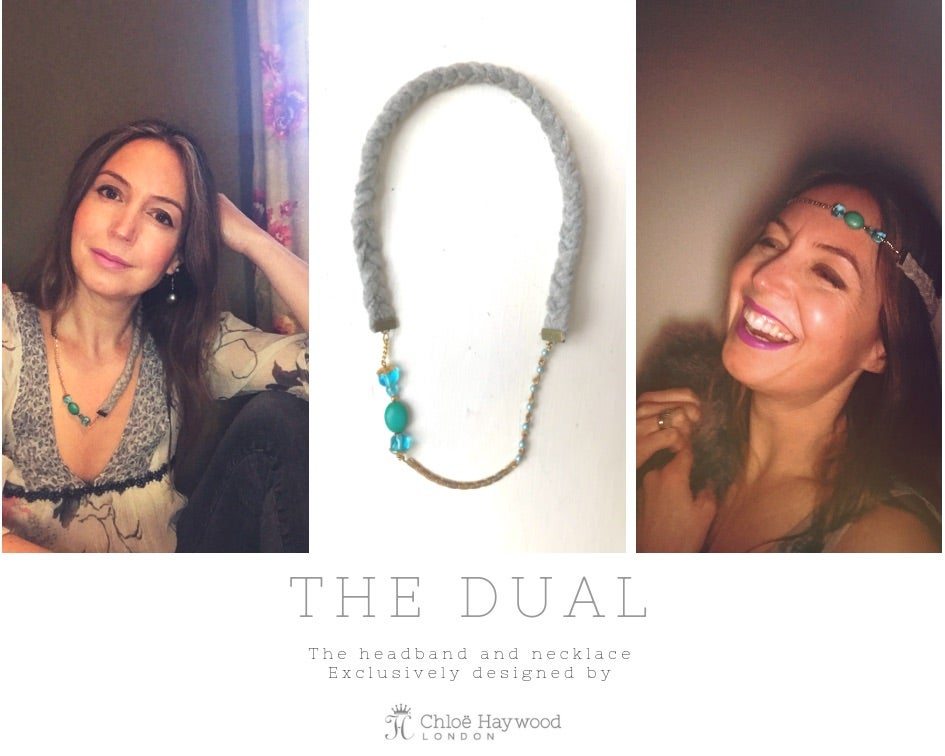 "Image of ""Dual"" Headband & Necklace"