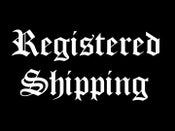 Image of REGISTERED SHIPPING, 2,50€