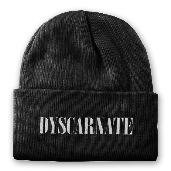 Image of Dyscarnate | Charcoal Beanie