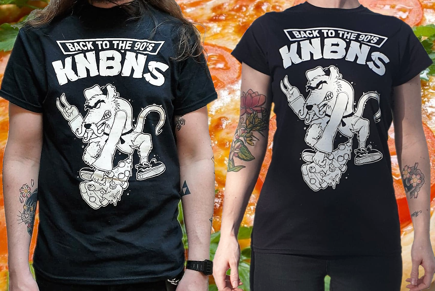 Image of T-shirt KNBNS back to the 90's