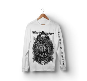 Image of WE DESERVE TO DIE LONGSLEEVE