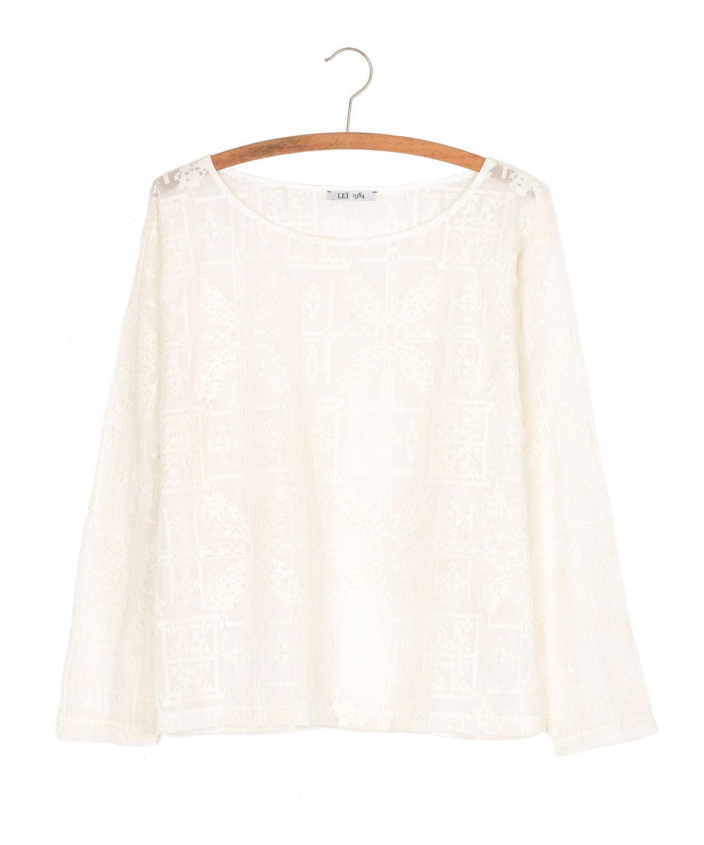 Image of Blouse brodée HONORINE 145€ -60%