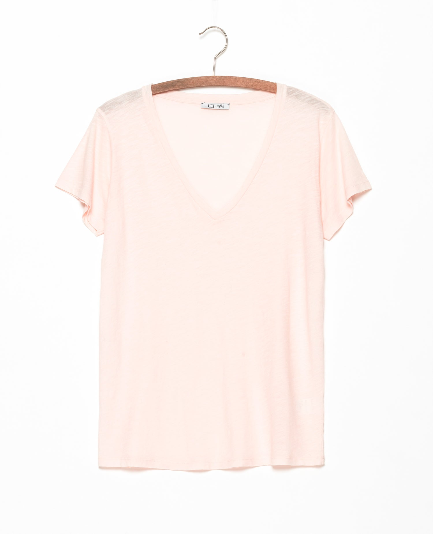 Image of Tee-shirt flamé CERISE BIS coloris pastels