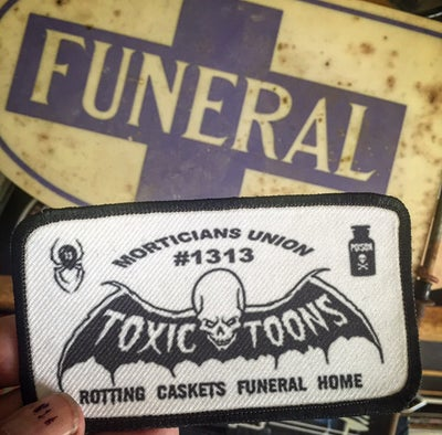 Image of TOXICTOONS - PATCH