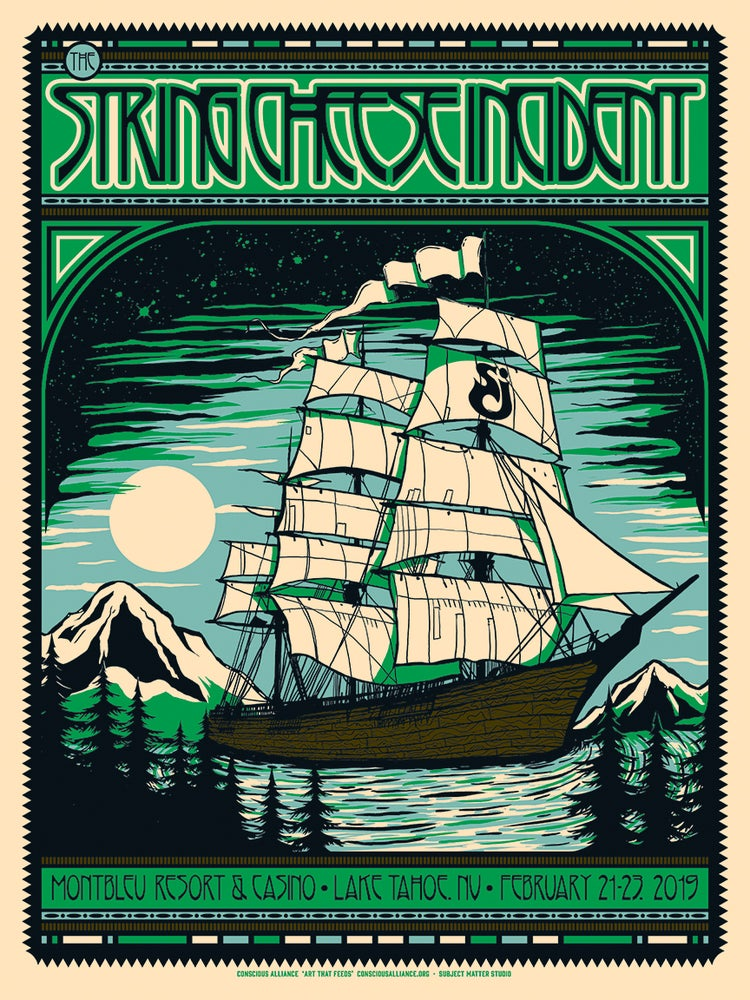 Image of The String Cheese Incident, 02.21-23/19, Lake Tahoe, NV