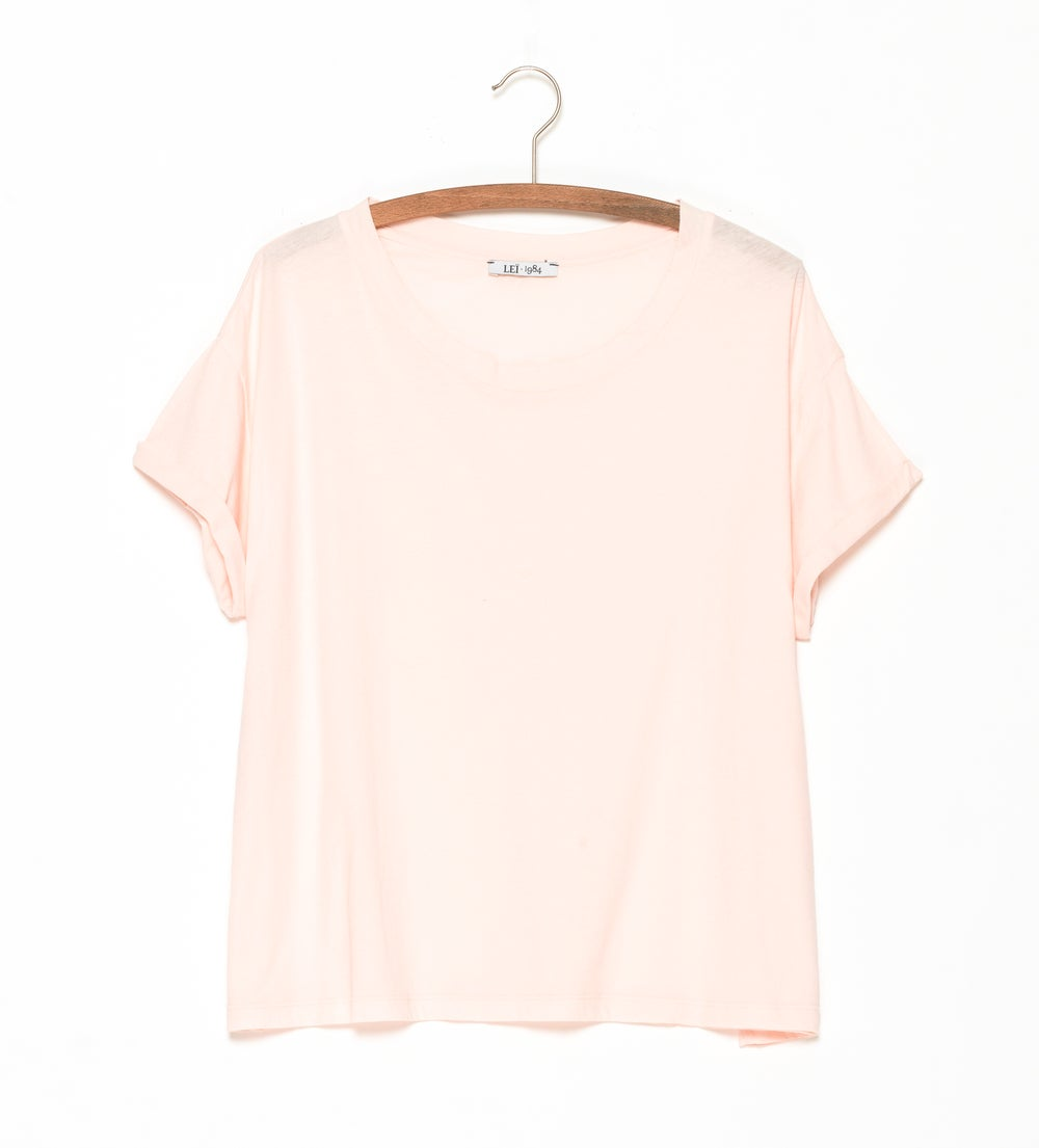Image of Tee-shirt jersey GABRIELLE coloris pastels