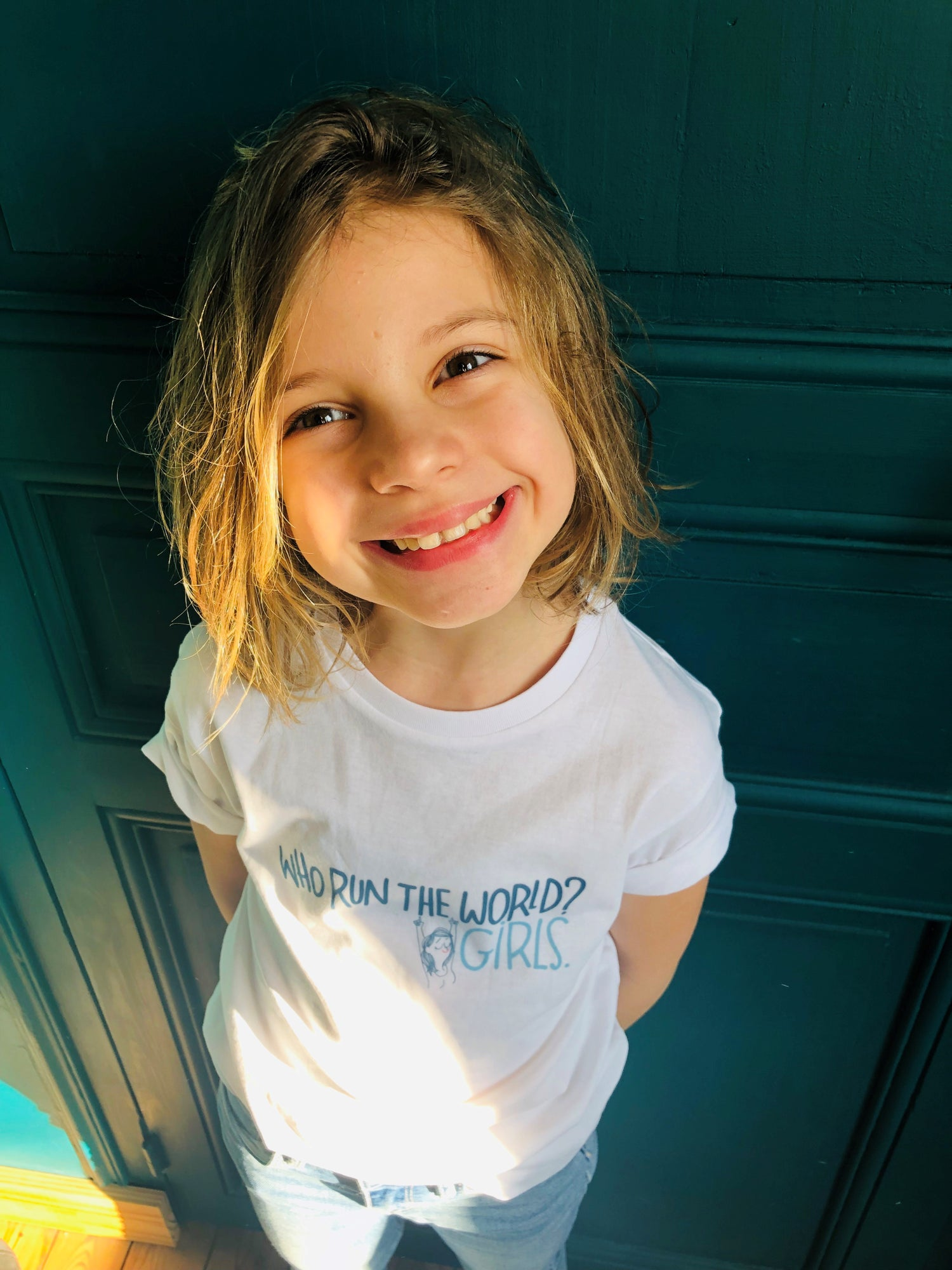 Image of T-SHIRT THE SIMONES X MATHOU - Modèle ENFANT