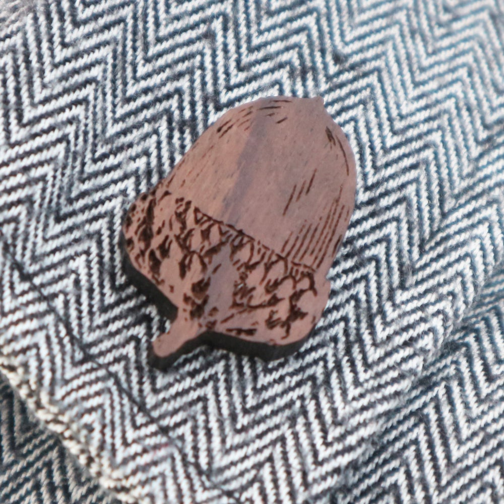 Image of Acorn Brooch