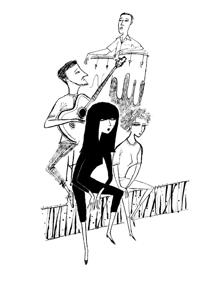 Image of beatniks