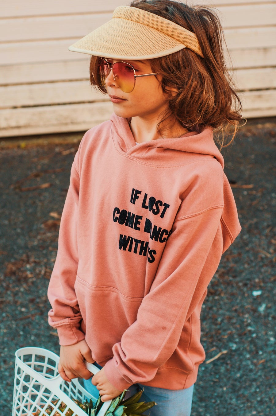 Image of Festival Kids If Lost Come Dance With Us Hoodie (Kids & Adult)