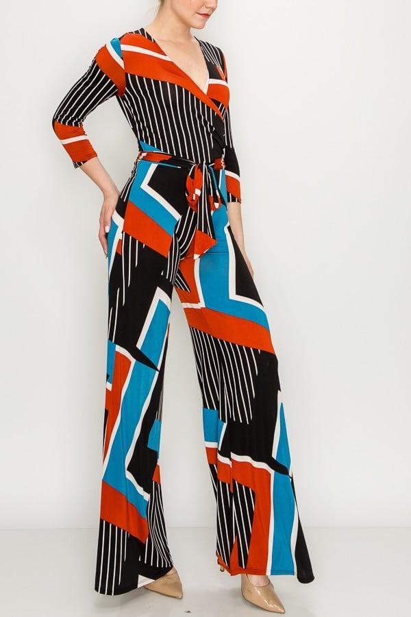 Image of Kris Multi Colored Jumpsuit