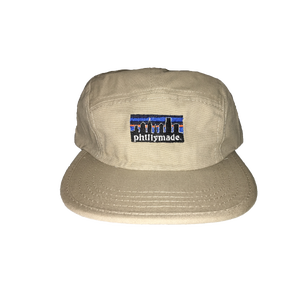Image of phillymade. 5 panel unstructured hat khaki