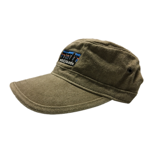 Image of phillymade. faded army hat khaki