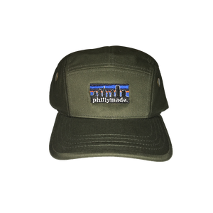 Image of phillymade. structured 5 panel army hat