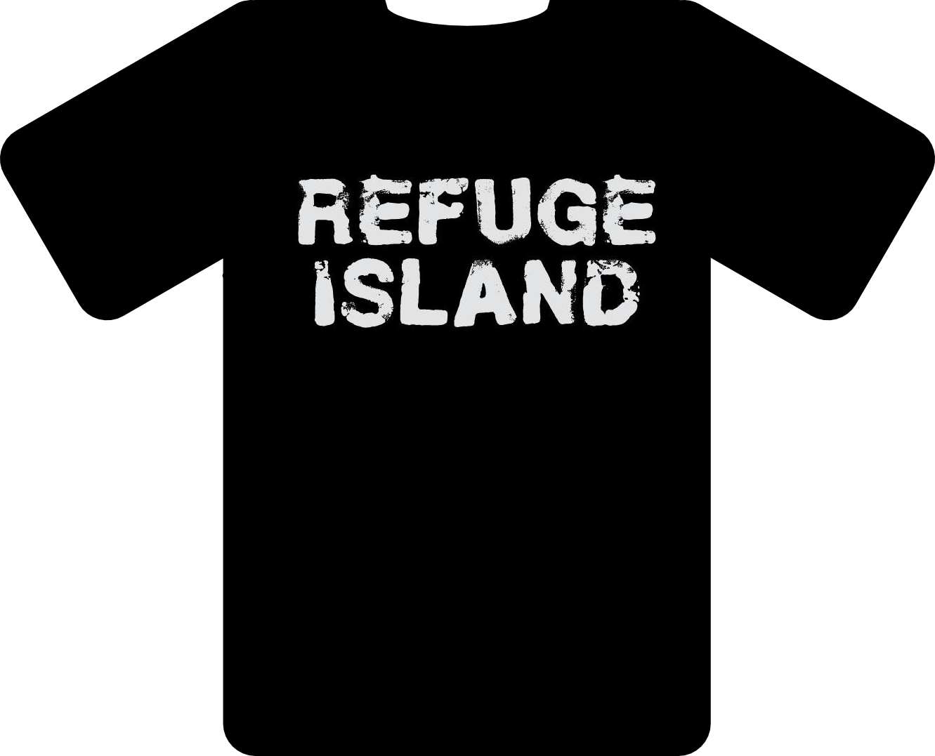 Image of Refuge Island T Shirts
