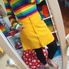 Yellow Rainbow Pocket Button Up Skirt