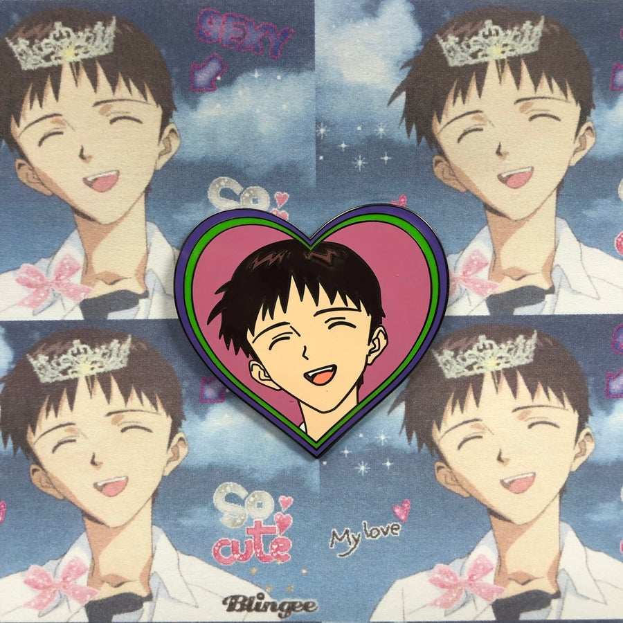 Image of Smiling Shinji