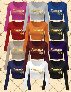 Image of Empress Long Sleeve Crop Top