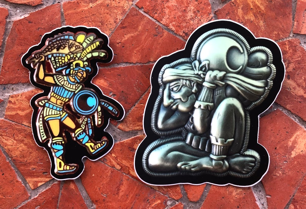 Image of Mayan sticker pack