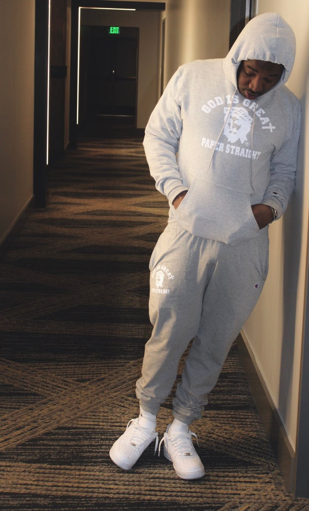 Image of GIGPS CLASSIC GREY HOODIE / FULL SWEAT SUIT