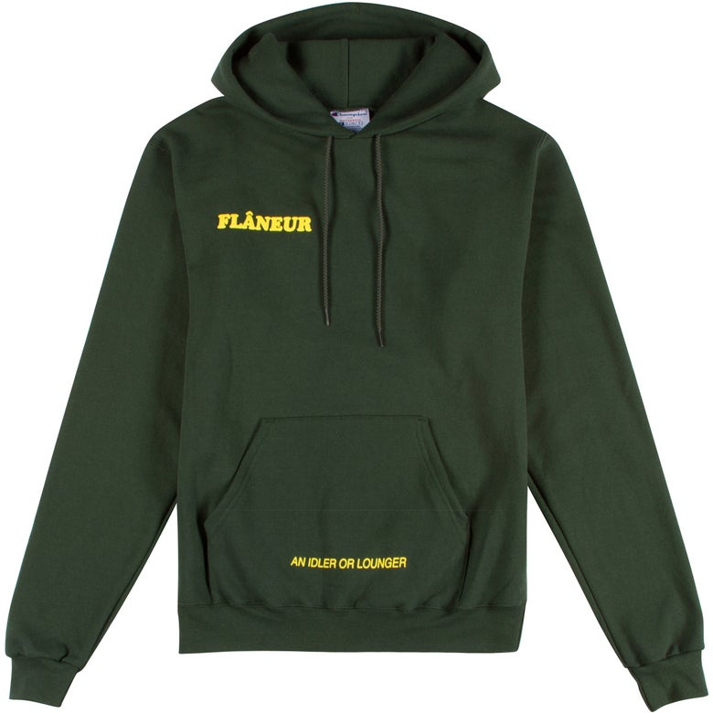 Image of FLÂNEUR Pullover (green)