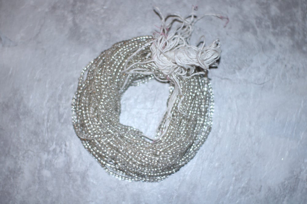 Image of Mini Clear tie waistbead