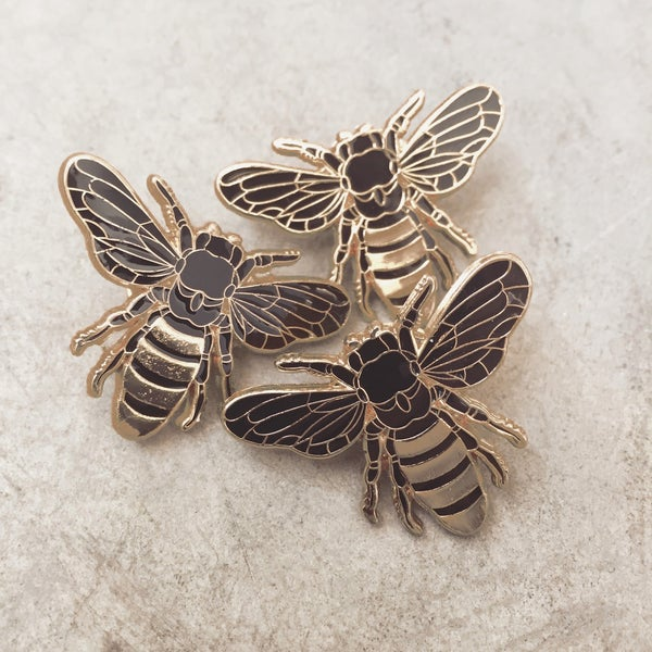Image of Honey Bee Lapel Pin