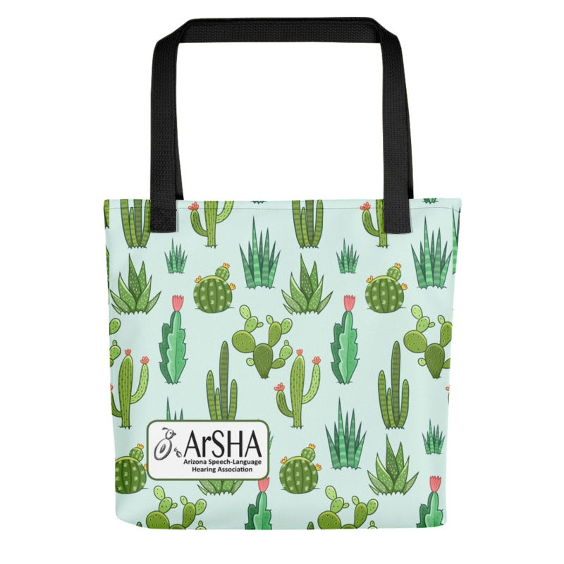 Image of ArSHA All Over Print Tote - Cacti Print