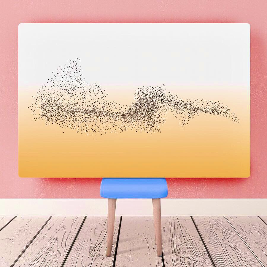 Image of Sunset Murmuration