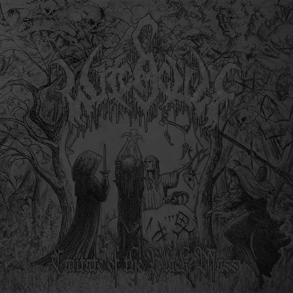 "Image of WITCHCULT ""cantate of the black mass"" CD"