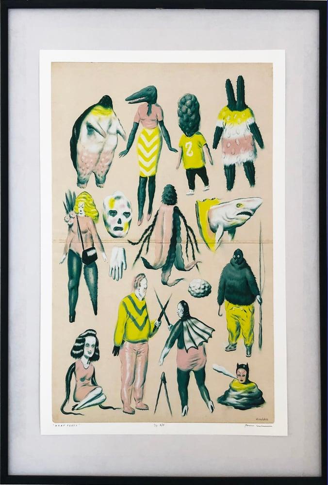 Image of Ryan Heshka - Limited edition giclée print