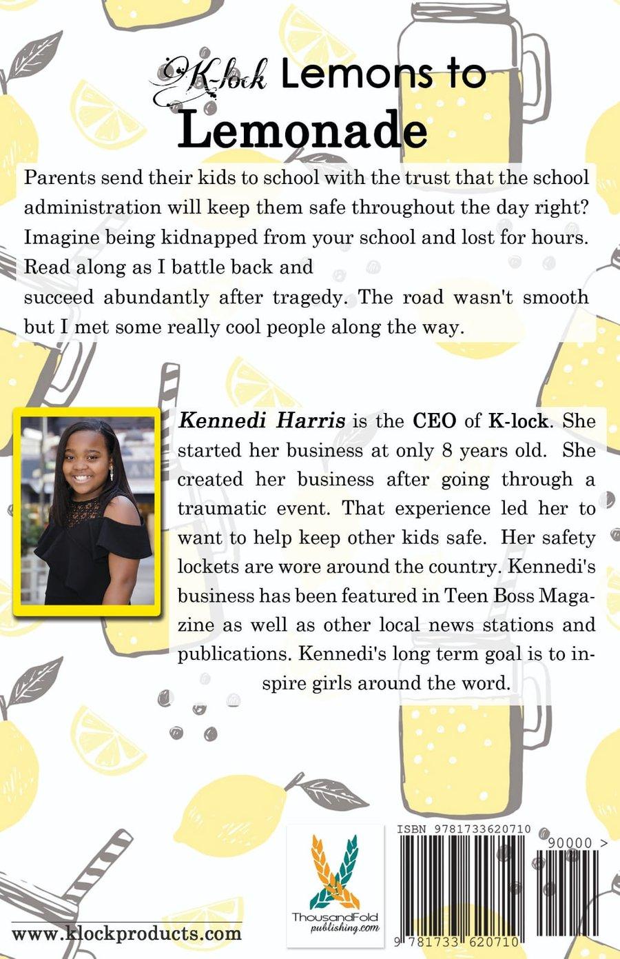 Image of K-lock Lemons to Lemonade Book