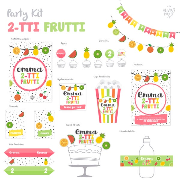 Image of Party Kit 2TTI-FRUTTI