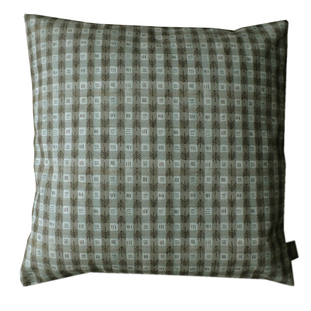 Image of CUSHION/COUSSIN PINE-PETROL
