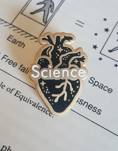Image of Heart & Science Pin