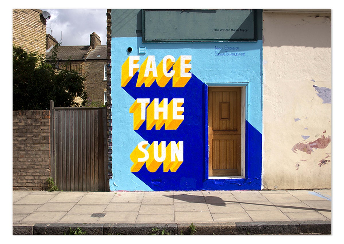 Image of Face The Sun - PRINT