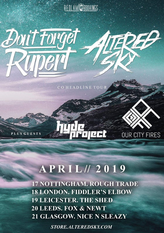 Image of April Tour with Don't Forget Rupert