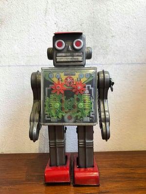 ORIGINAL VINTAGE TIN ROBOT