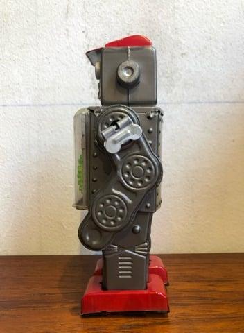 Image of ORIGINAL VINTAGE TIN ROBOT