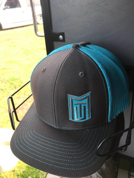 Image of MTU Dark Grey w/ Neon Blue