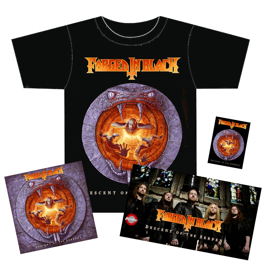 Image of Descent of The Serpent Deluxe Bundle