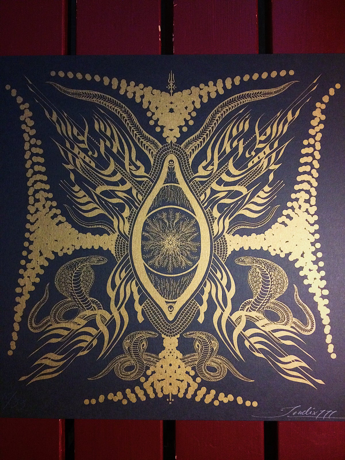 Image of New 2019 Jondix Serpent Print