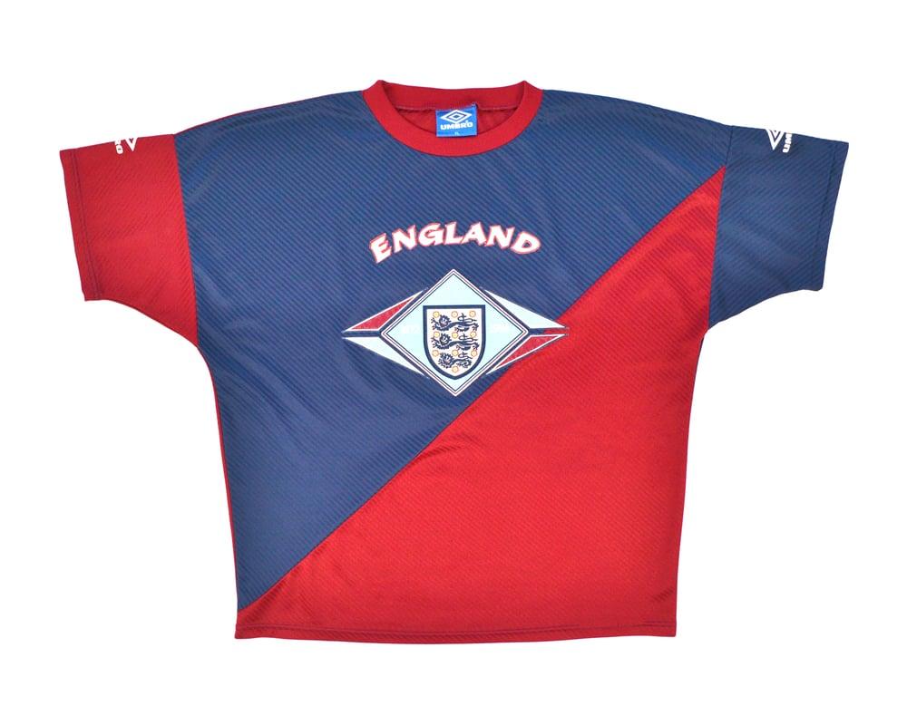 Image of 1994-96 Umbro England Training Shirt XL